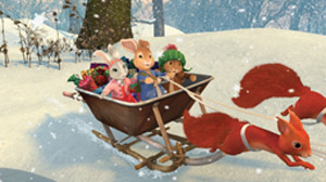 NICKELODEON PETER RABBIT'S CHRISTMAS TALE
