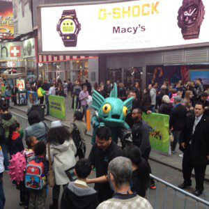 SWAP Force takes over Times Square