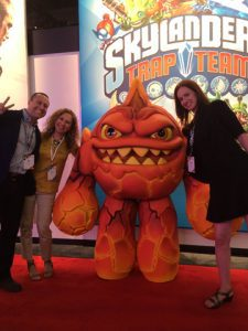 Skylanders Trap Team, at Activision