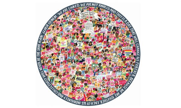 eeBoo Collaborates With Artist To Create Women's March Puzzle
