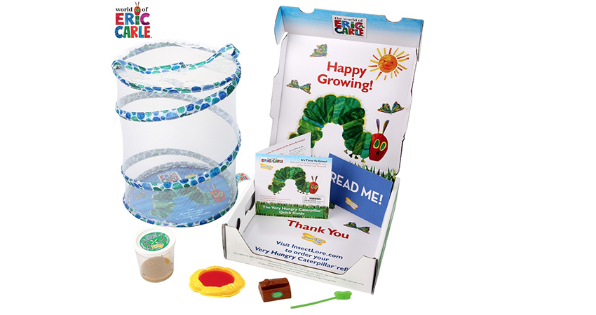 Insect Lore, World of Eric Carle Partner for Insect Kits