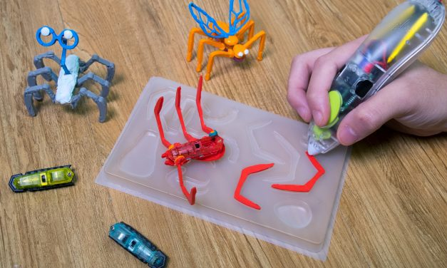 3Doodler Partners with HEXBUG for New STEM Toys to Debut At Toy Fair