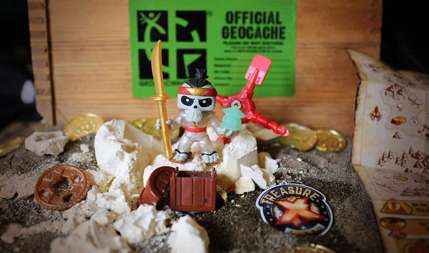 Moose Toys Teams with Geocaching HQ for Treasure X