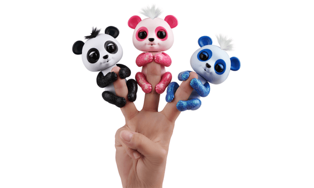 WowWee Launches Fingerlings Glitter Pandas at Target