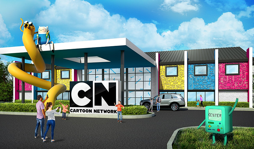 Cartoon Network, Palace Entertainment to Open Hotel Experience