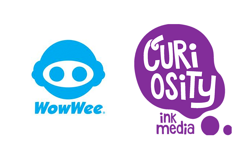 WowWee Partners with Curiosity Ink Media