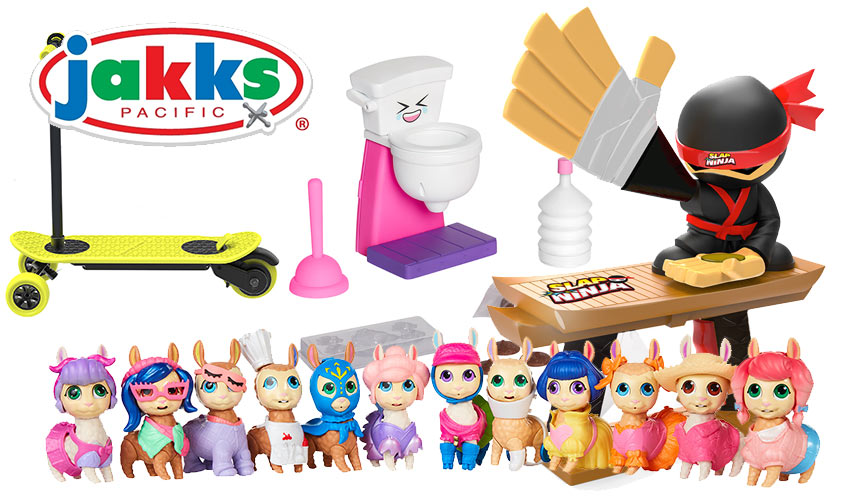 Jakks Pacific Heads to Toy Fair with New Brands, Products, and Collaborations