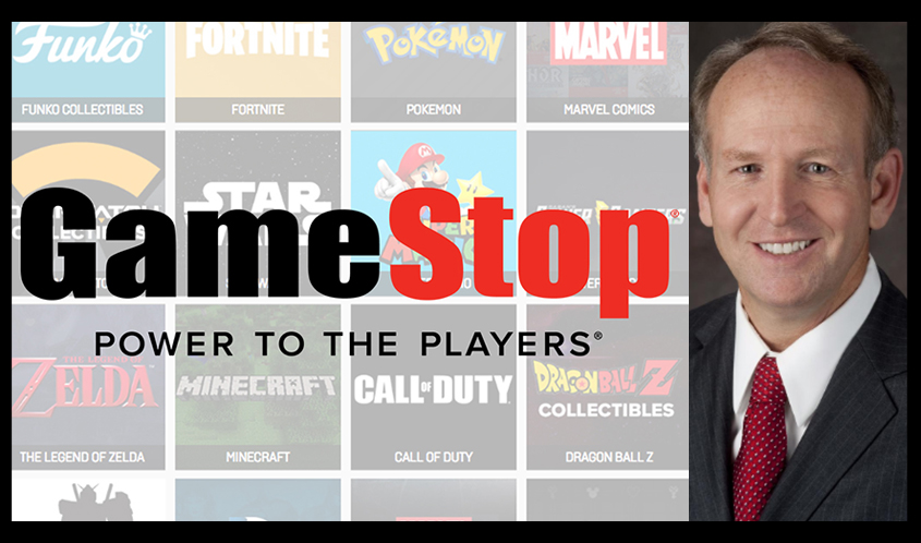 George Sherman Levels Up to CEO at GameStop