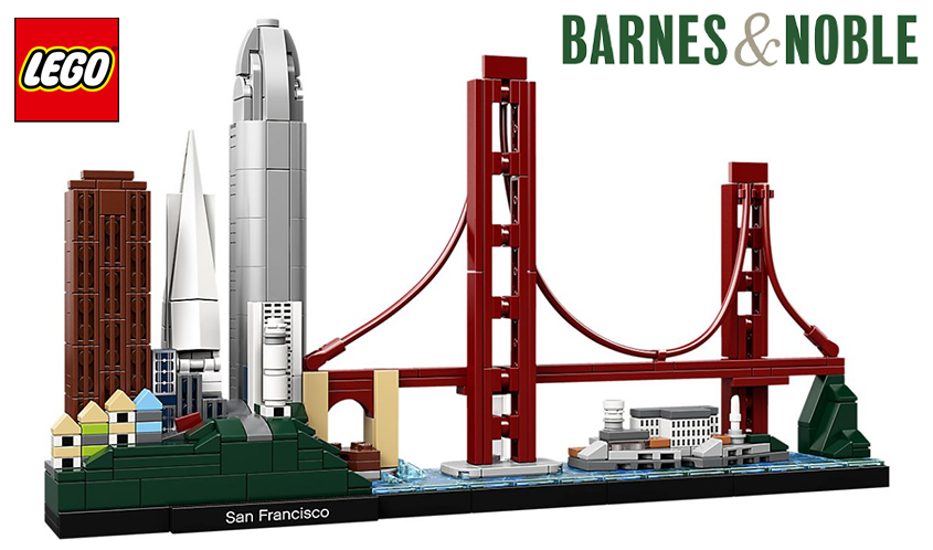 Barnes & Noble to Host LEGO Architecture Fan Build Event