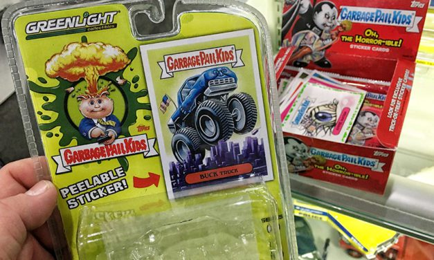 Greenlight Collectibles Previews Garbage Pail Kids Die-Cast Collection