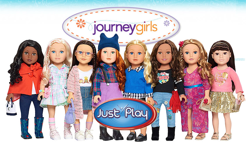 "Kelsey Kid Toy Gift Journey Girls 18/"" Doll"