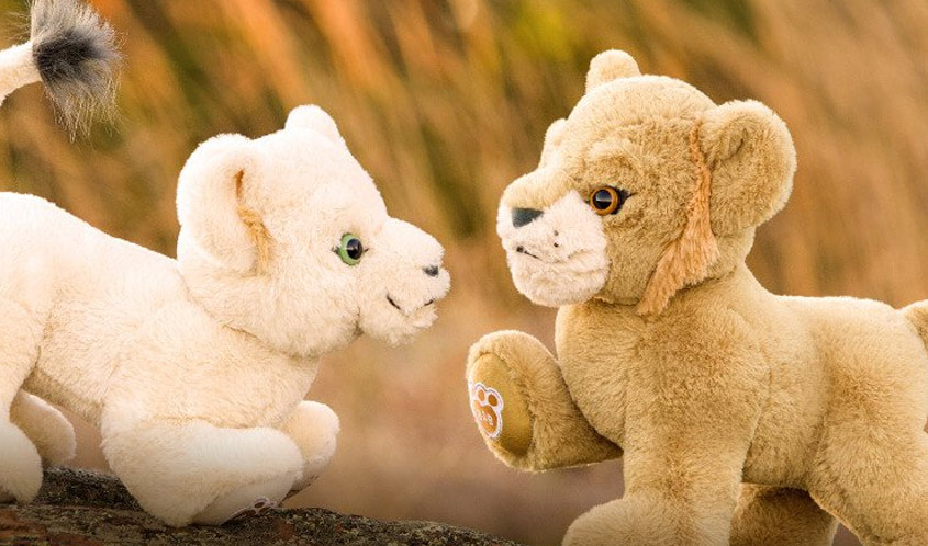 Characters from Disney's 'The Lion King' Roar into Build-A-Bear