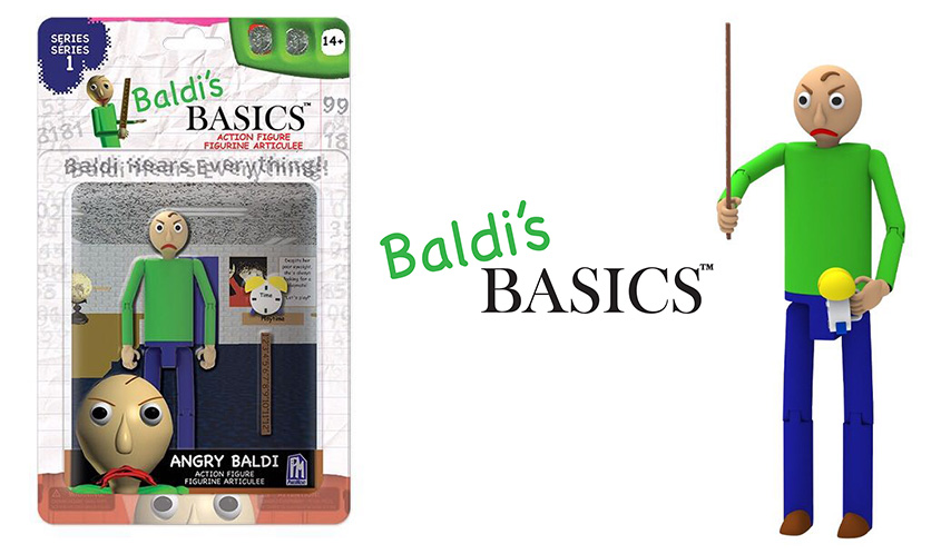 'Baldi's Basics' Enters the Toy Department with Collectibles from PhatMojo