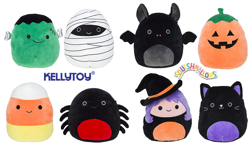 Kellytoy's Squishmallows are Ready for Halloween