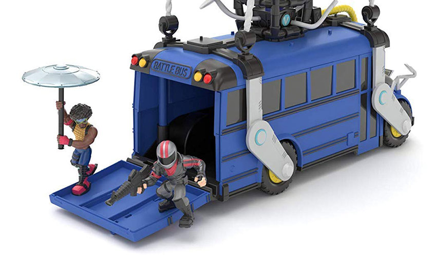 Moose Toys Unleashes the Fortnite Battle Bus Play Set
