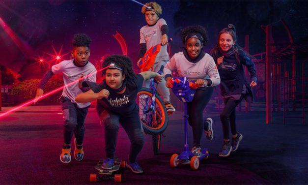 Hasbro, Super Heroic Team Up for NERF Apparel and Footwear Collection
