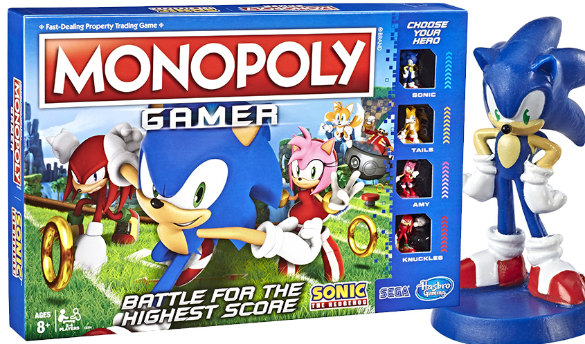 Hasbro Introduces Monopoly Gamer Sonic The Hedgehog Edition The Toy Book