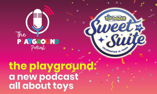 Listen: The Playground Podcast Talks Toys Live from Sweet Suite '19