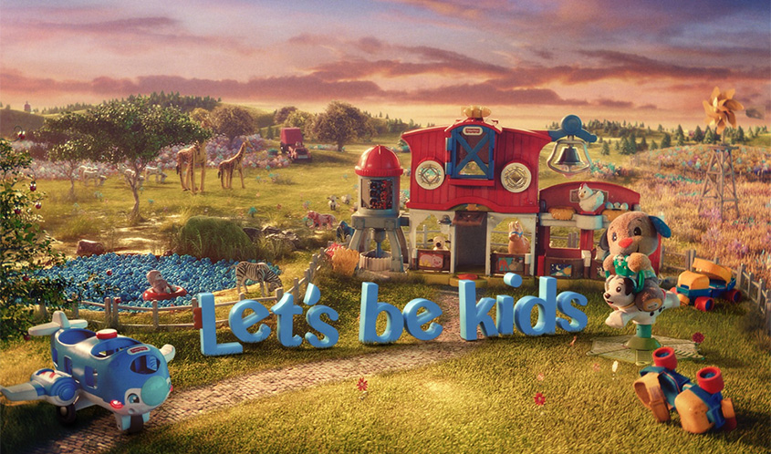Fisher-Price Taps Into Nostalgia for 'Let's Be Kids' Brand Reinvention Campaign