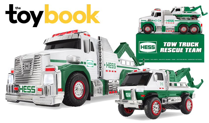 Hess Rolls Out 2019 Holiday Toy Truck