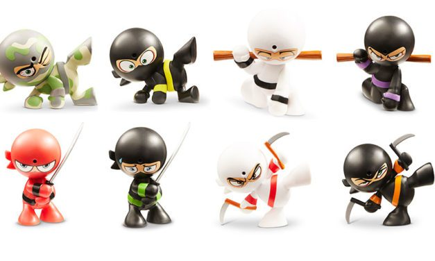 Funrise's Fart Ninjas Action Figures Blast into Retail