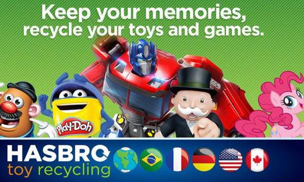 Hasbro Expands Toy Recycling Program to Canada