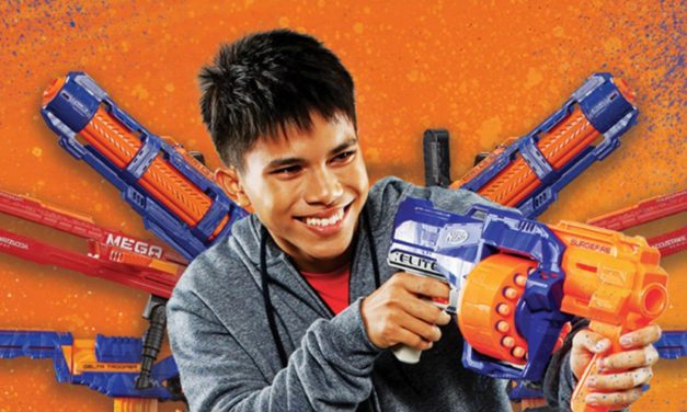 World's First NERF Action Xperience Opens in Singapore