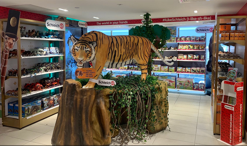 Schleich Plots Major Retail Expansion with Flagship Stores, Pop-ups & Partnerships with Toys 'R' Us, FAO Schwarz