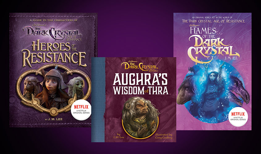 Jim Henson Co. Expands 'The Dark Crystal: Age of Resistance' into Publishing