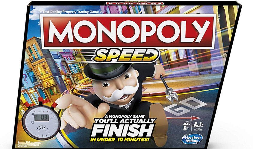 Hasbro Unleashes Monopoly Speed — The Fastest Monopoly Game Ever