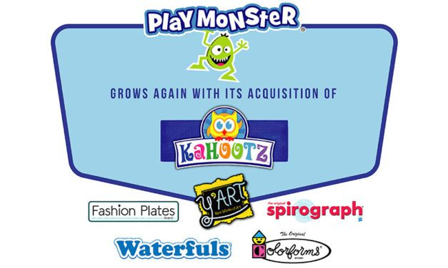 PlayMonster Grows with Acquisition of Kahootz Toys