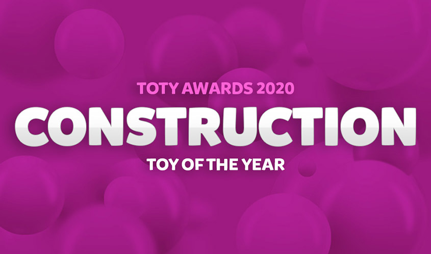 Vote Now for the 2020 TOTY Awards: Construction Toy of the Year!