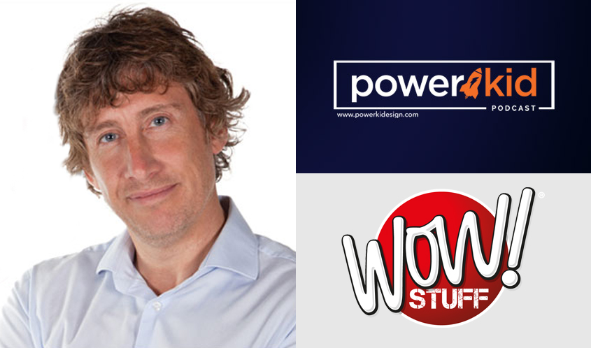 Wow! Stuff's Richard North Appears on 'Power Kid Podcast'
