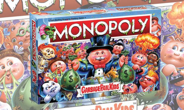 The Op, Topps Team Up for Monopoly: Garbage Pail Kids Edition