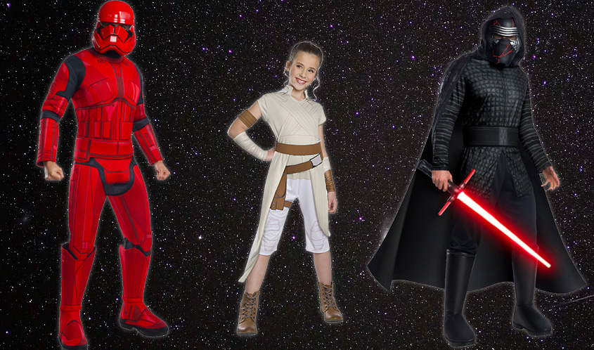 Rubie's Costume Co. Heads to a Galaxy Far, Far Away with Star Wars: The Rise of Skywalker Collection