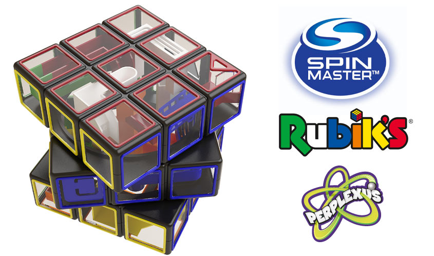 Rubik's x Perplexus Puts a New Spin on Two Classic Puzzles