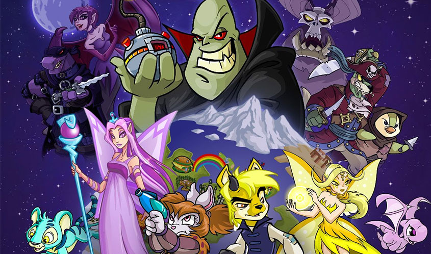 Beach House Pictures, JumpStart Games to Develop Animated Neopets Series