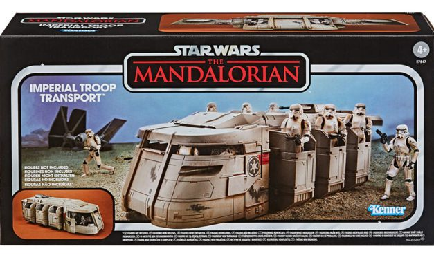 Hasbro Updates a Kenner Classic for 'The Mandalorian'