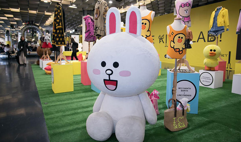 Wildbrain CPLG Inks Deal for Line Friends Clothing Collection