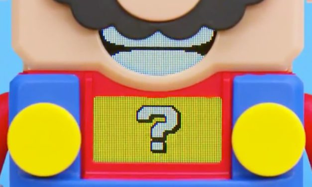 LEGO Partners with Super Mario