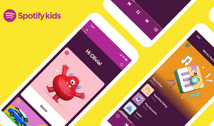 'Spotify Kids' App Comes to the U.S. and Canada