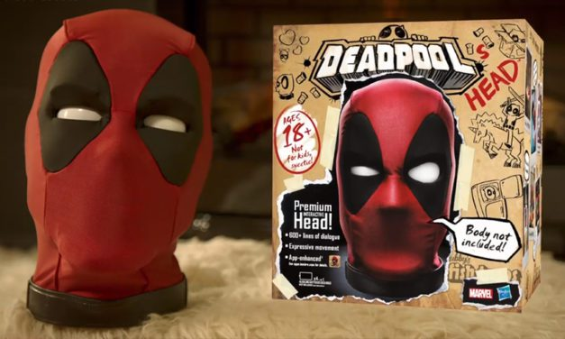 Hasbro Reveals Animatronic Deadpool's Head