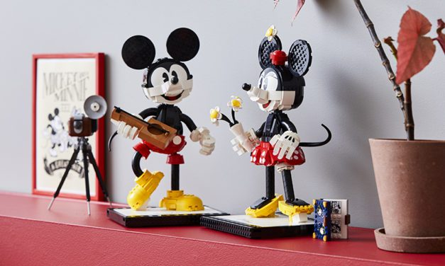 LEGO to Release Mickey and Minnie Mouse Buildable Characters