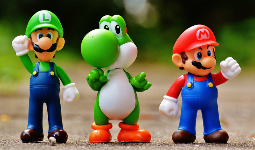 Super Mario Bros. Action Figures Licensed by Nintendo | Source: Pixabay