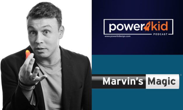 Tom Hudson Talks Marvin's Magic on the 'Power Kid Podcast'