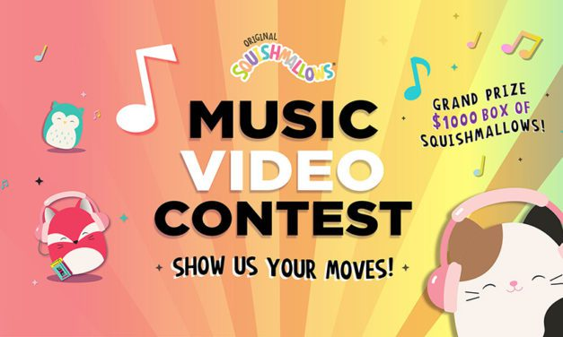 Kellytoy's Squishmallows Take the Stage for First-Ever Music Video Contest