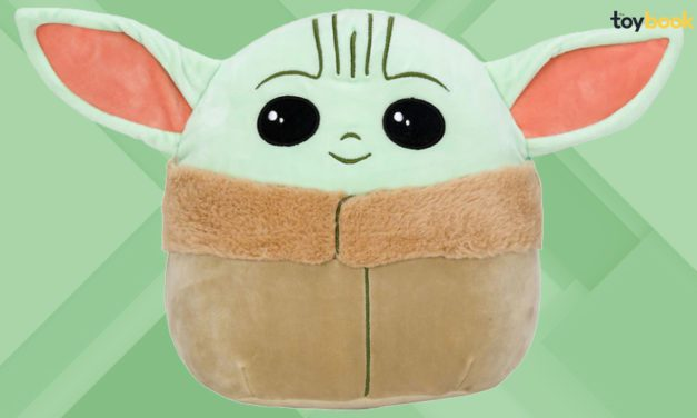 Exclusive: The Mandalorian's Baby Yoda Joins the Squishmallows Squad