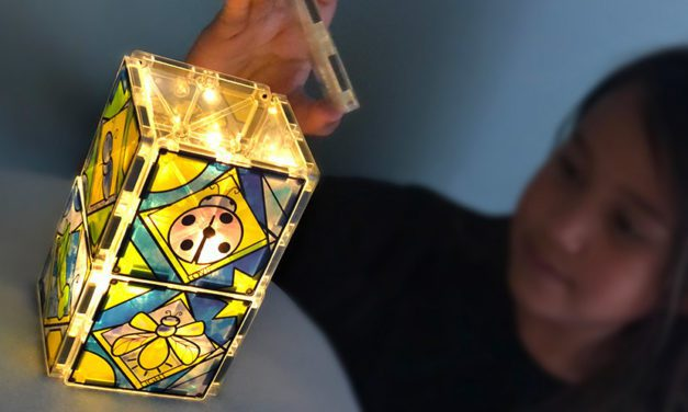 New Luminary Magna-Tiles Help Support Childhood Cancer Awareness