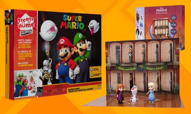 Jakks Pacific Unveils 'Treats at Home: Halloween' with Super Mario, Frozen II Characters