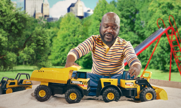 Shaq Plugs Classic Play in a New Tonka Truck Commercial